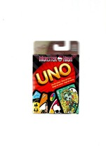 MONSTER HIGH UNO CARD GAME ISSUED BY MATTEL 2012 BOXED NEW SEALED 7+ - $9.49