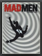 Mad Men: Season Four 4 Disc DVD Jon Hamm Elizabeth Moss First Release 2010 - $9.95