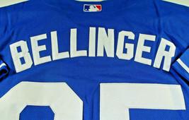 CODY BELLINGER / L.A. DODGERS / AUTOGRAPHED DODGERS BLUE PRO STYLE JERSEY / COA image 6