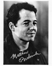 8 X 10 Autographed Photo of Mathew Broderick (REPRINT) - $6.99