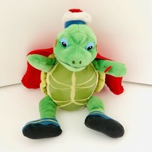 "Wonder Pets Tuck Plush Doll Ty Beanie Baby 2008 Stuffed Animal 6"" Turtle - $9.80"