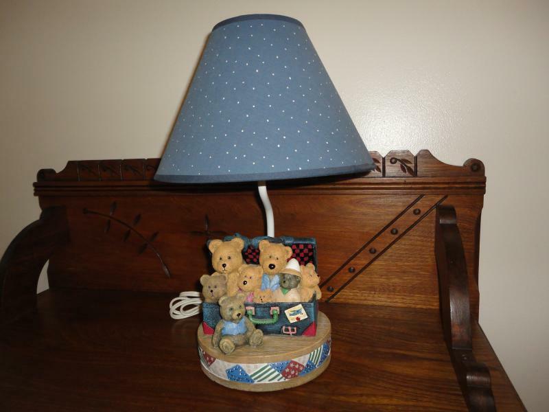 Toy Box Teds Nursery Lamp Kidsline 8