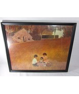 Vintage Print PICNIC By Sottung Winde Fine Prints No 201 - $34.64