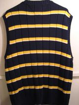 MENS TOMMY HILFIGER KNIT SWEATER VEST, SIZE XL 100% COTTON image 4