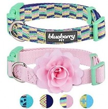 Blueberry Pet Pack Of 2 Multiple Designs Mix And Match Pretty Picks Dog Collar  - $32.91