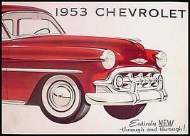 1953 Chevrolet Prestige Sales Brochure Bel Air 210 150, Original 53 Xlnt - $24.75
