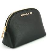 Michael Kors Jet Set Trousse de Maquillage Étui Voyage Pochette Noir Gal... - $133.35