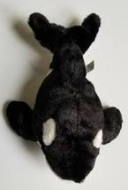 "Sea World Orca Killer Whale Plush Stuffed Animal Black White 9"" - $12.30"