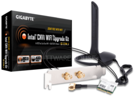 NEW GIGABYTE GC-CI22M_A (Rev 1.0) Intel CNVi WIFI Upgrade Kit Fit H370 B... - $52.46