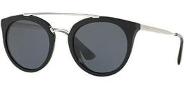 Prada Cinema Women's Black Vintage Style Sunglasses PR 23SS 1AB1A1 - Italy - $159.99