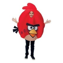 LICENSED ANGRY BIRDS RED BIRD CHILD HALLOWEEN COSTUME SIZE STANDARD - $23.26