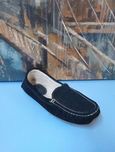 LL Bean Wicked Good Sheepskin Shearling House Shoes Slippers Men's 9 M B... - $36.86 CAD