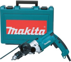 Makita 3/4 in. Hammer Drill Corded 6.6 Amp Torque Limiter Handle Depth G... - $112.71