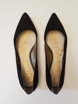 Sam Edelman Rae Flats 7 1/2 Black Suede Pointy Toe - $26.72