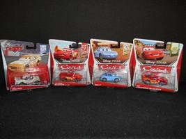 Disney Cars Pixar 1:65 Scale Assortment Lightning McQueen Sally Greg Can... - $21.87