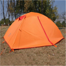 2-person Camping Tent Water-resistant Polyester Thickened PU-coated Laye... - $69.99