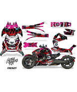 Full Body Wrap Graphic Sticker Decal for Can-Am Ryker 2019 - Frenzy Red - $287.05