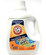 Arm & Hammer 122.5 Oz For Sensitive Skin Oxi Clean No Dyes Or Perfumes D... - $36.99