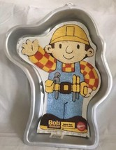 Wilton Cake Pan Bob the Builder with Instructions Paper Insert 2002 Chil... - ₨1,438.34 INR
