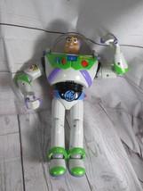 "Disney Toy Story Buzz Lightyear Talking 12"" Blue Anti Gravity Belt - $39.59"