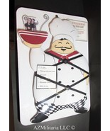 "The Refrigerator Magnet ""French Memo Board"" Chef New View  - $17.75"