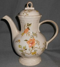 1980s Mikasa Heritage - Olde Tapestry Pattern 8 Cup Coffee Pot Made In Japan - $59.39