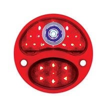United Pacific LED 12V Tail Light Lens w/Blue Dot For 1928-31 Ford Model A - R/H - $45.29