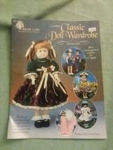 "Craft Leaflet Crochet Classic Doll Wardrobe Shady Lane 5 Outfits 15"" Dolls - $6.99"