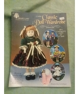 "Craft Leaflet Crochet Classic Doll Wardrobe Shady Lane 5 Outfits 15"" Dolls - $6.99"
