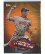 STEPHEN STRASBURG RC 2010 Topps Chrome Target Exclusive Refractors #BC1 ... - $6.99