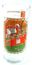 Pepsi 1982 Christmas Collection NIGHT BEFORE CHRISTMAS Glass Mouse in Bed - $9.89