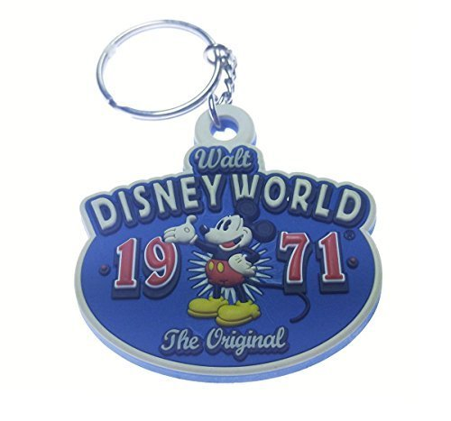 Disney Walt Disney World 1971 Mickey the Original Rubber Key Chain