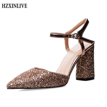Luxury HZXINLIVE cm 8 Women Heel Ladies Heels High Footwear Shoes High Sandals wqvS4TwR