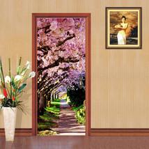 3D Pfirsichblüte Door Wall Mural Photo Wall Sticker Decal Wall AJ WALLPAPER DE - $73.11+