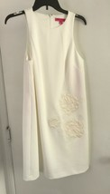 Betsey Johnson  Women's Size 8 White with floral Design Dress NWT - $23.10