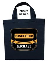 Train Conductor Trick or Treat Bag, Train Conductor Halloween Bag - $11.99+