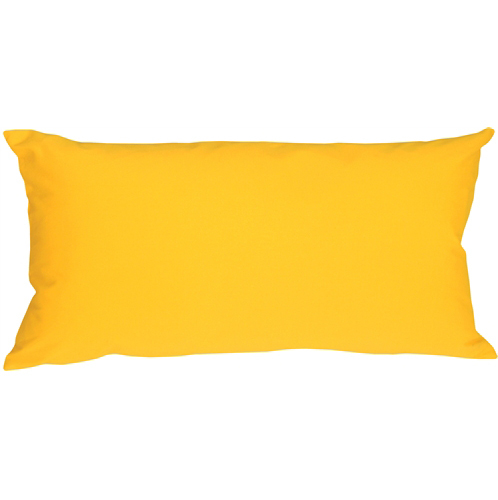 Pillow Decor - Caravan Cotton Yellow 9x18 Throw Pillow