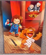 Muppets Fozzie Bear vs Chucky Glossy Art Print ... - $24.99