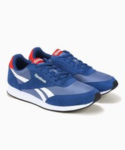 Reebok Classics Mens Royal Jogger 2 Trainers HS Blue/Red/White Shoes - $82.62