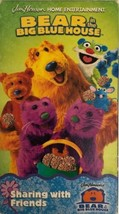 Bear in the Big Blue House-Sharing With Friends(VHS,2001)COLLECTIBLE RAR... - $31.98