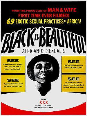 Primary image for Black Is Beautiful - 1970 - Movie Poster