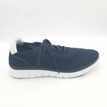 Vionic Mens Tucker Walking Sneakers Blue Lace Up Low Top Mesh Shoes 11 M New - $54.02
