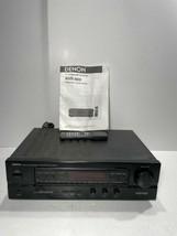 Denon Model AVR-800 AV Surround Receiver Tested! - $118.75