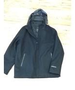 Tumi Men's Wool Blend Coat: Size L: Black - $140.01