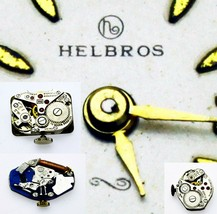 Helbros Watch, Pocket Watch  Movement For Parts, Repair, Replacement Ver... - $7.69+