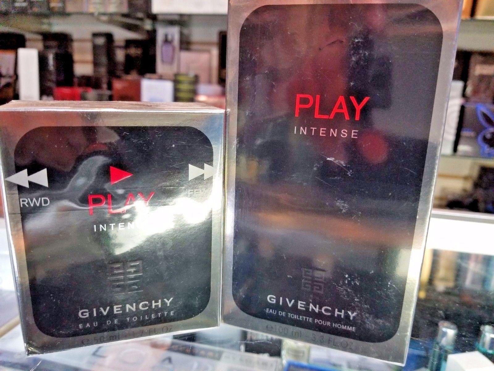 Givenchy Play Intense by Givenchy 1.7 3.3oz EDT Eau De Toilette Spray Men SEALED