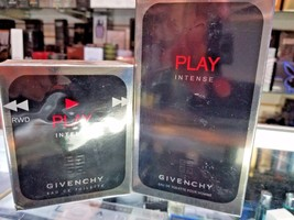 Givenchy Play Intense by Givenchy 1.7 3.3oz EDT Eau De Toilette Spray Me... - $199.99
