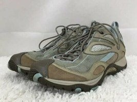 Merrell Siren Sync Mint Hiking Trail Casual Sneakers Vibram Women's US Size 9 - $37.13