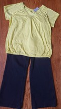Womens Plus Size 2 Pc Lane Bryant Top Size 16 Essentials Catherines Pant... - $18.77