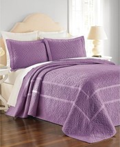 Martha Stewart Collection Flowering Trellis Iris Queen Bedspread - $109.90